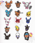 Five Nights by elisonic12