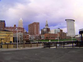 Downtown Cleveland Ohio by OhioErieCanalGirl
