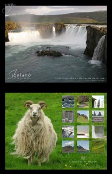 2010 Iceland Calendar by Crooty