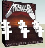 Master Of Puppets Diorama WIP by killero94