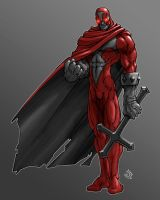 Another Red Heretic by RedHeretic