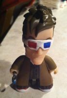 Tenth Doctor with 3D Glasses by CaliforniaHunt24