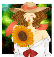 The Tree's Sunflower by belle1914