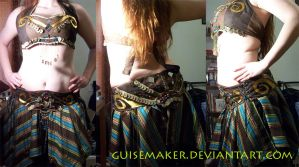 Bellydance Costume by GuiseMaker