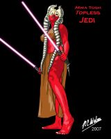 Not-So-Topless Jedi by Afrodisium