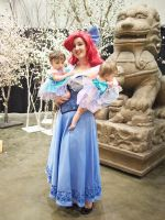 Ariel and her twin mermaid babies. by aimeekitty