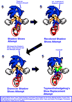 History of Sonic's Shadow Jump Shoes by Taymenthehedgehog
