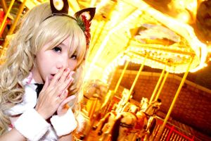 In Christmas time VOCALOID SeeU by Millet686