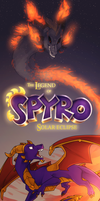 The legend of Spyro: Solar eclipse by NeroLovesCynder
