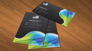 Global Universe business card2 by Lemongraphic