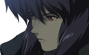Major Motoko Kusanagi Vector - Darker Version by Xuuuxx