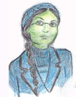 Young Elphaba by Revyrie
