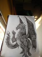 WIP- Dragon 5 by ChaoticTendencies