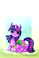 Twi and Spike by Ende26