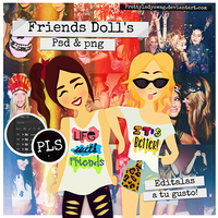 Friends Dolls GRATIS by PrettyLadySwag