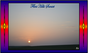 Flint Hills Sunset 2015 by Taures-15