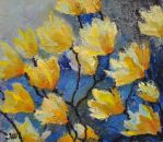 To the light. Expressionistic flowers. by herrerojulia
