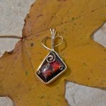 Embers Pendant by magpie-poet