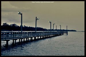 Sunday Pier by Andrea-Reyes
