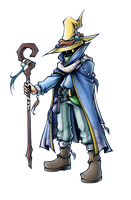 Dissidia: Black Mage of Light by isaiahjordan