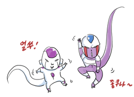 Let's dance! by frieza-love