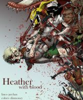 ...heather.with blood... by dinmoney