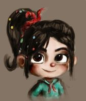 Vanellope by Lilnanny