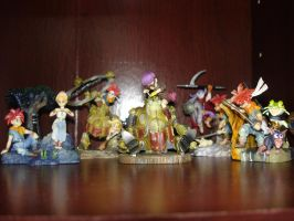 Chrono Trigger Figures by Puja723