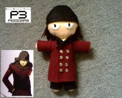Persona 3 - Shinjiro Plush by collarander