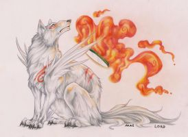 Amaterasu by RattieLove