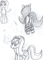 Pony Doodles by Animalsss