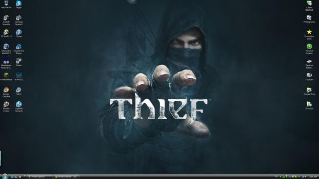 Thief Wallpaper by pyraLyte