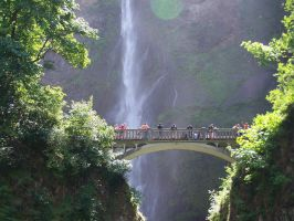 Multnomah falls 6 by karma4ya