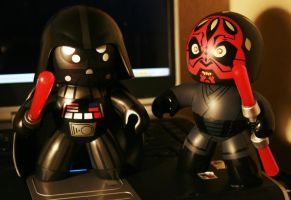 Vader and Maul by RubberDuckyTai