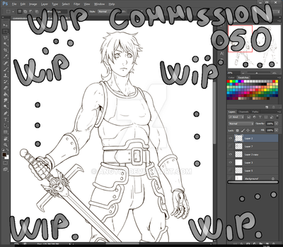 Wip commission 050 by Angy89