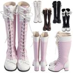 Knee High Bow Boots by SweetiexCakes