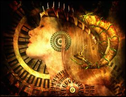 Golden Gears of Time by sioux-she
