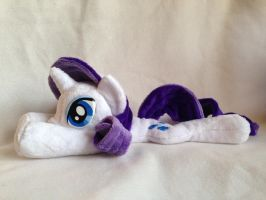 Rarity - Handmade Floppy Beanie Pony! by tiny-tea-party