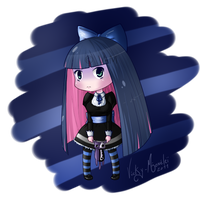 Chibi Stocking by Vicky-Mionelei