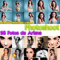 pack photoshoot ariana grande by luceroval