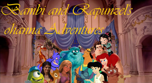 Bambi and Rapunzel's Ohanna Adventure by RapunzelOnYouTube