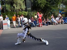 Power Rangers Studios Parade 1 by WDWParksGal-Stock