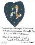 Tails and Cosmo's Love In The Stars by SonicSallyFan-1