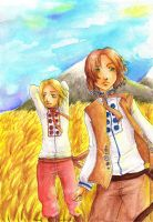 AHP: In the golden fields by Mirabel-chan