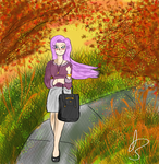 Contest Entry: Fall Walk by Captain-Momo