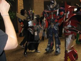 Optimus Prime and Transformers Momocon 2013 by werewolf29