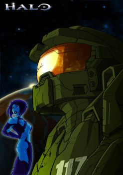 Chief_and_Cortana_by_noprips by SPetnAZ1982