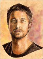 gerard butler by ava-art-ro