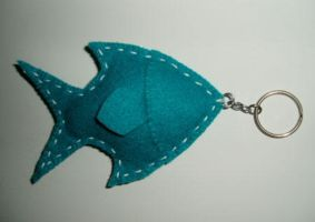 Fishy Keychain by Jyezze