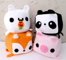 Cute Animal Plushes by CosmiCosmos
